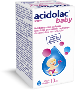 Acidolac Baby krople 10ml