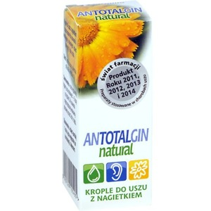 Antotalgin Natural krople do uszu x15 g