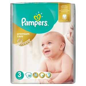 PAMPERS Premium Care 3 x80 szt.