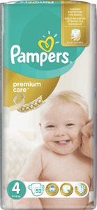 PAMPERS Premium Care 4 x52 szt.